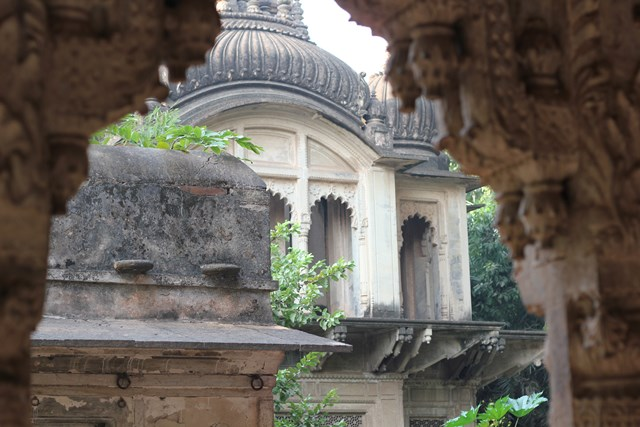 Deo bagh - close up temple