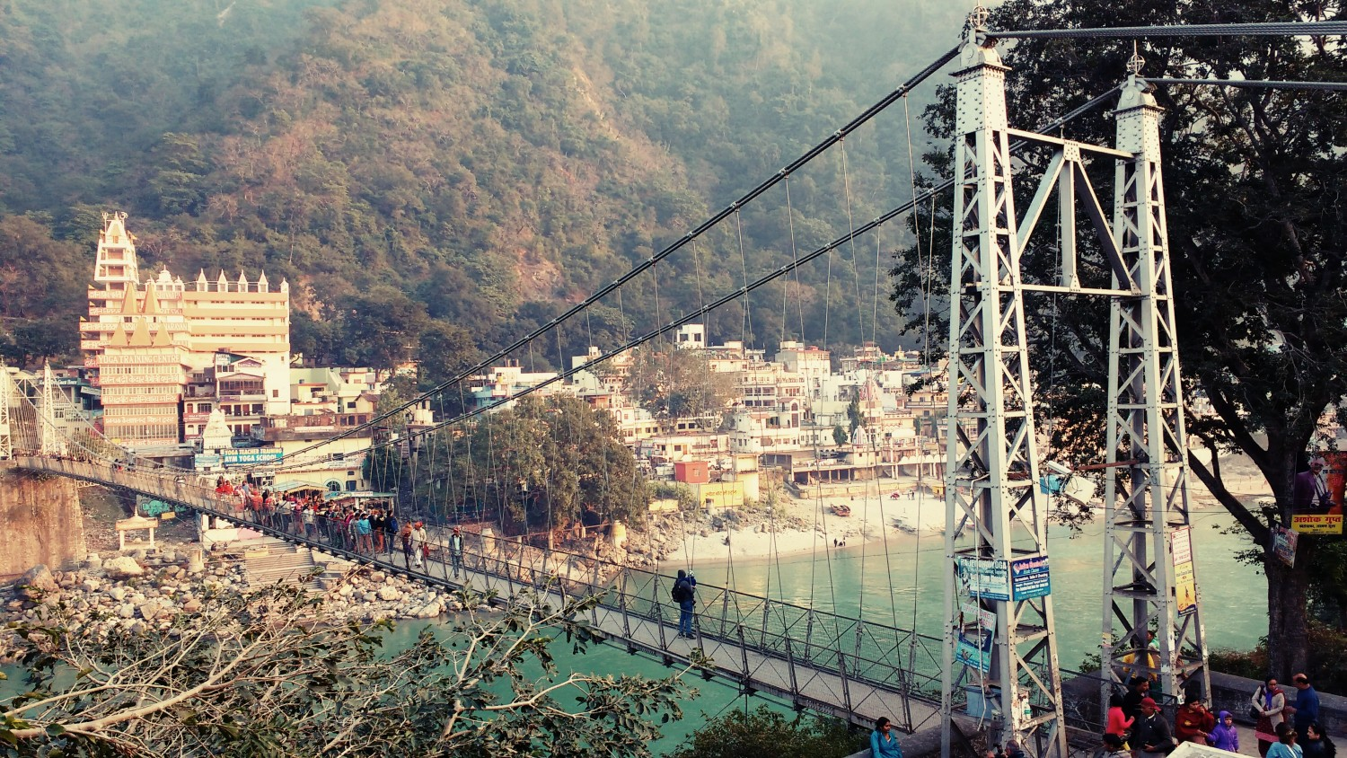 Rishikesh - view from German Bakery
